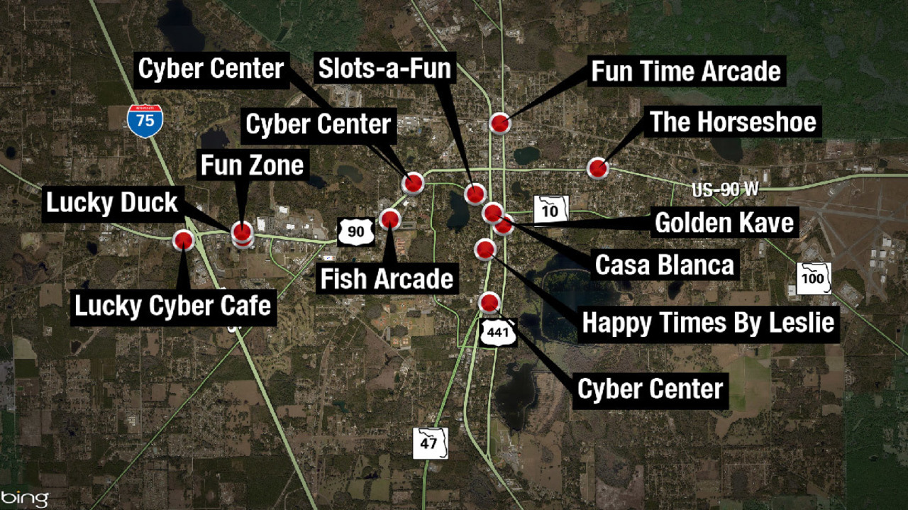 Internet cafes ordered to shut down in Lake City