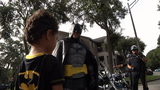 Florida officers surprise 4-year-old with visit from Batman