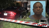 Car slams into yard, nearly misses Ribault home
