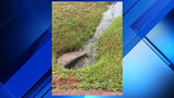 Mandarin mom worried storm drain is hazard for kids