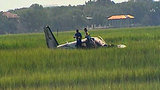 Airplane crash-lands in marsh near NE Florida Regional Airport