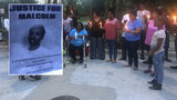 Family members hold vigil for man killed in triple shooting