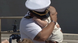 Families greet return of USS Hue City at Mayport
