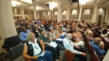 Hundreds pack City Council chamber to voice opinions on Confederate statues
