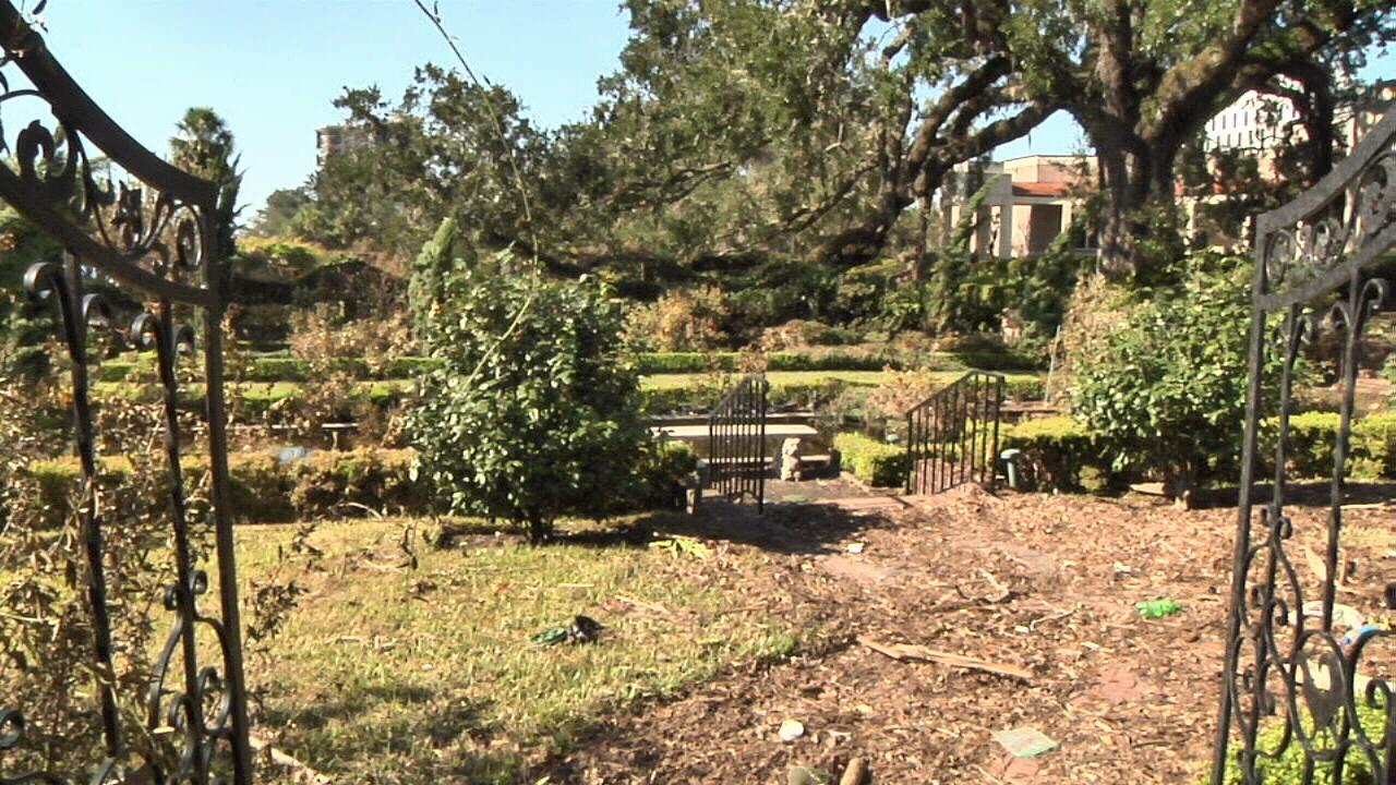 Irma deals blow to iconic Cummer Museum gardens