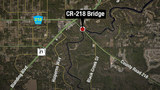 CR-218 bridge over Black Creek closed to traffic