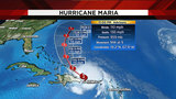 Maria departs Puerto Rico as Category 2 hurricane