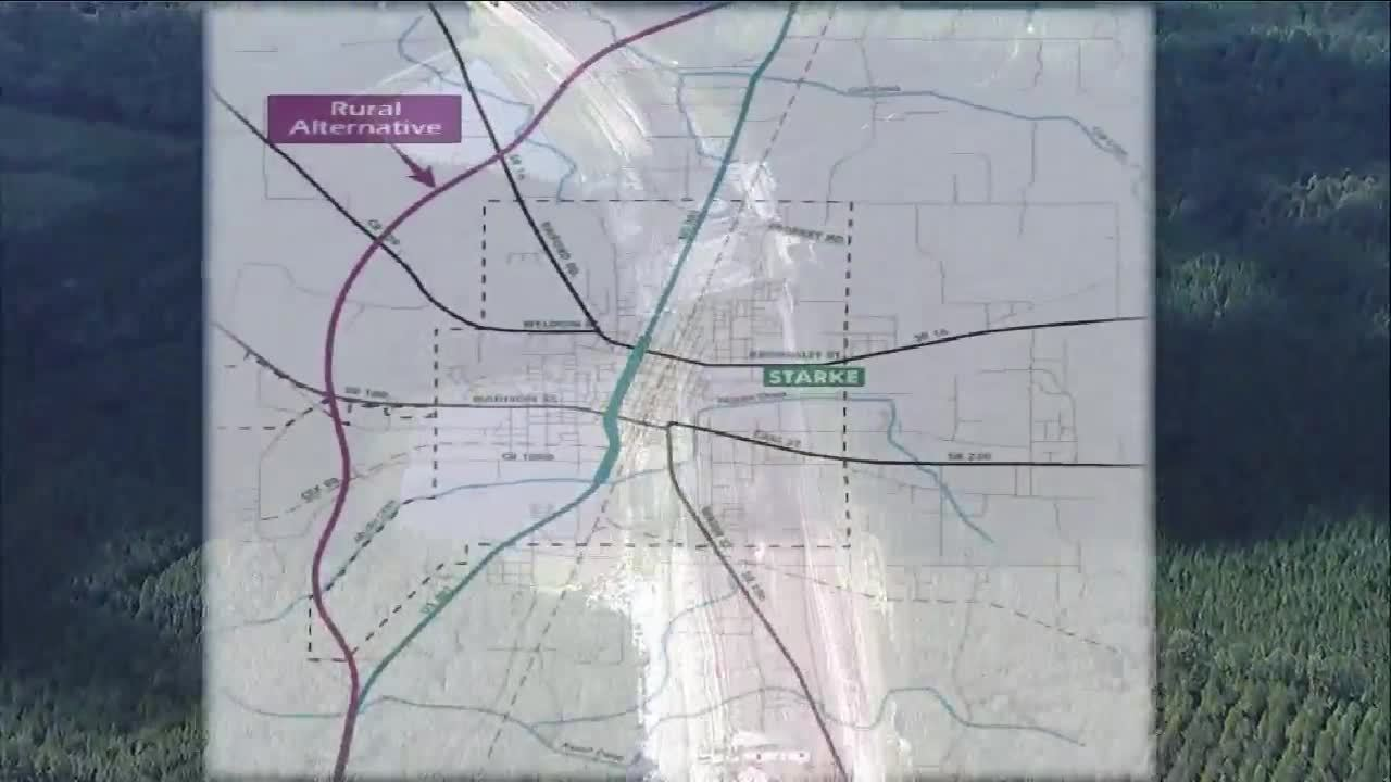 Drivers Split On Benefit Of New US Bypass - Us 301 map