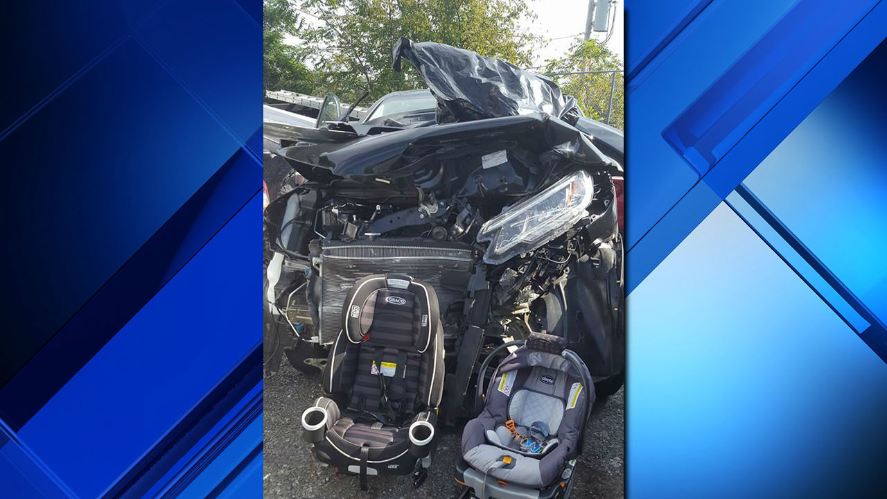 Mom S Viral Crash Photo Underscores Importance Of Car Seats