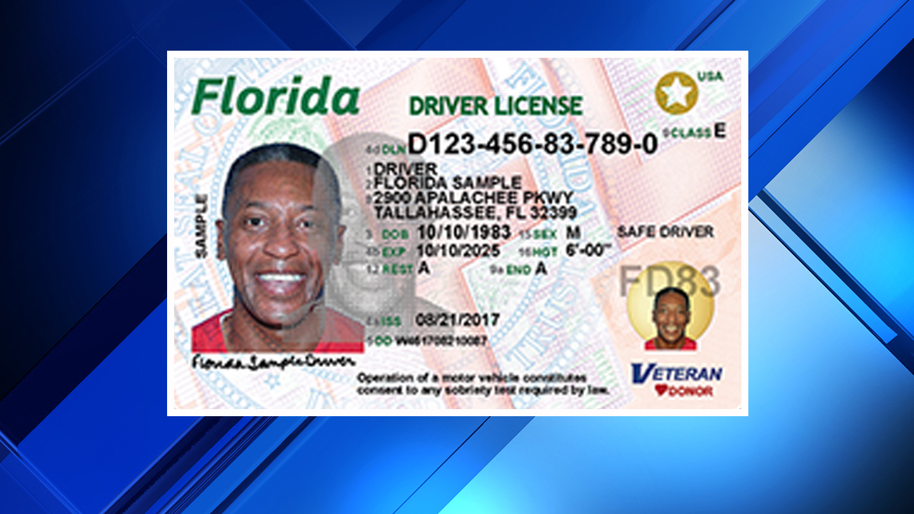 Here 39 S What Your New Florida Driver License Looks Like