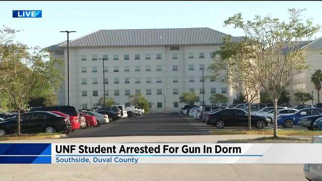 19 year old unf student accused of pulling gun on roommate