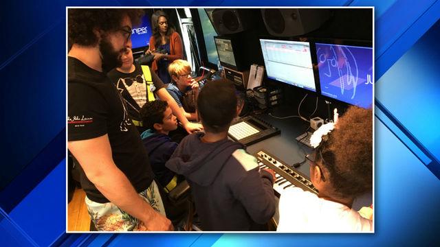 John Lennon Educational Tour Bus in Jacksonville 2