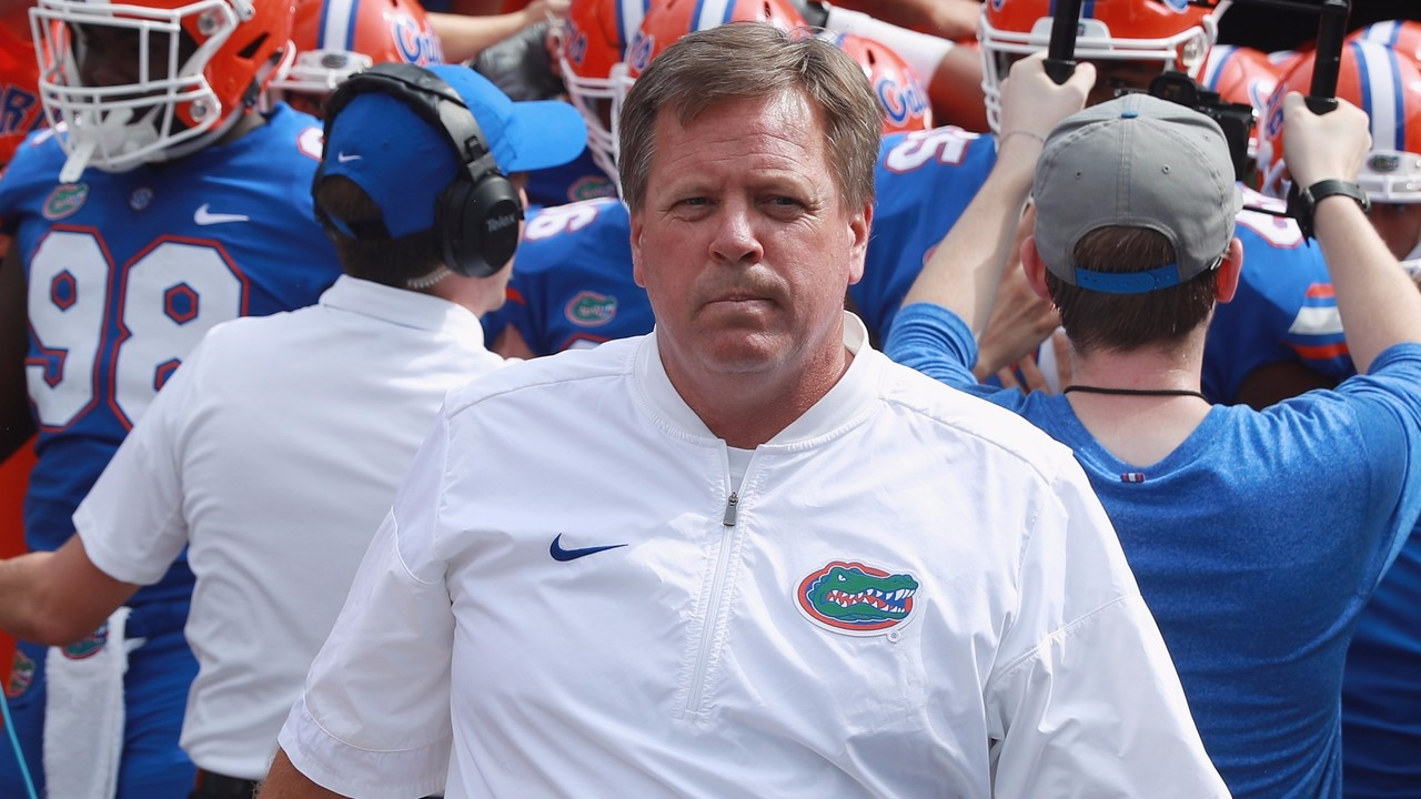 "GettyImages-848100036_1509330431488_10878085_ver1.0_1280_720 No McElwain highlights ""Buyout Bowl"" between Gators and Colorado State"