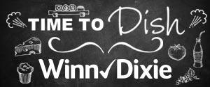 Winn-Dixie Time To Dish header
