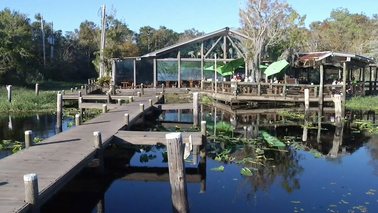 Clark 39 s fish camp reopens after hurricane irma for Clark s fish camp seafood restaurant