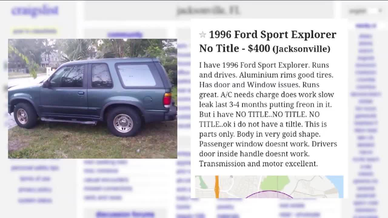 Man Selling Suv On Craigslist Has Vehicle Stolen During Test