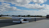 Small plane makes belly landing in St. Augustine