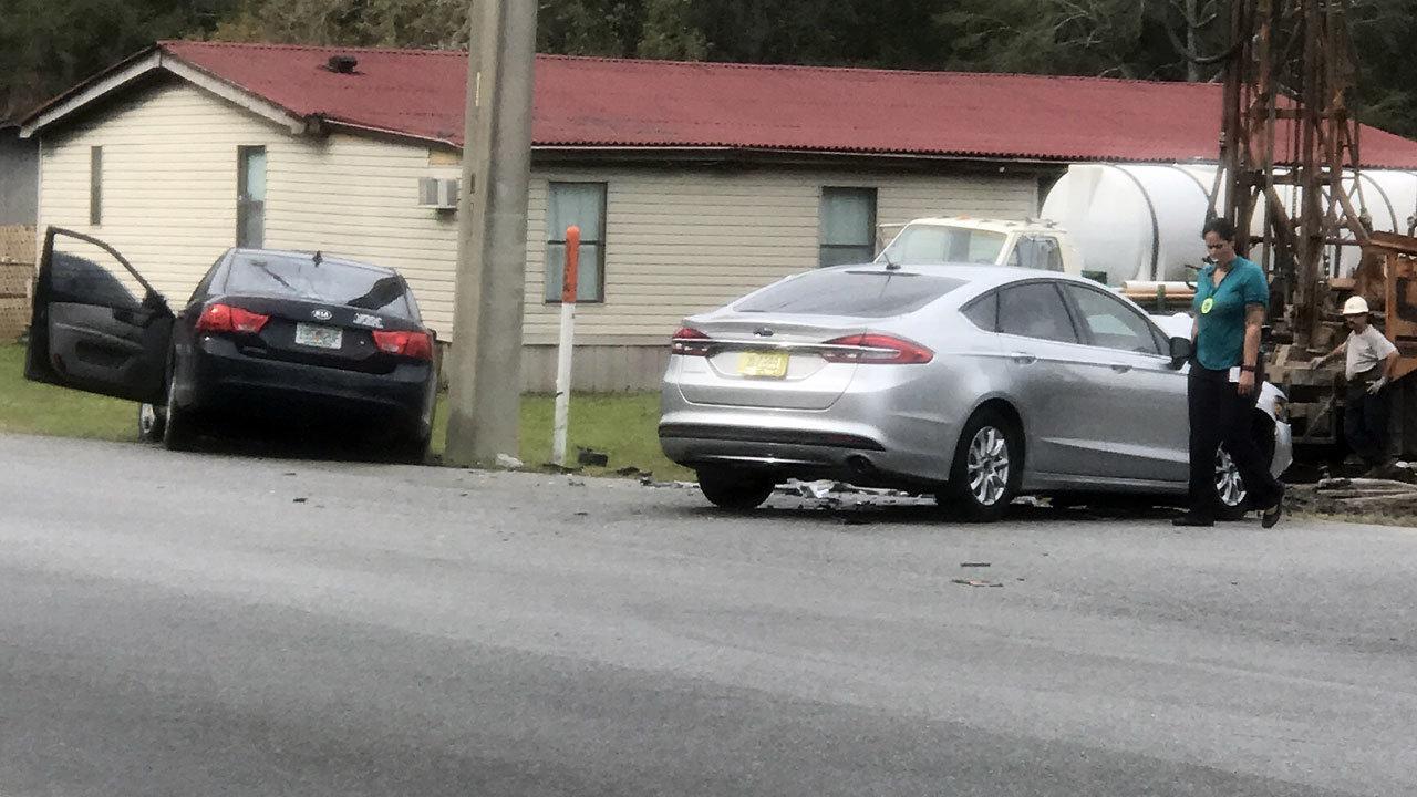 Car Crash Westside Jacksonville November