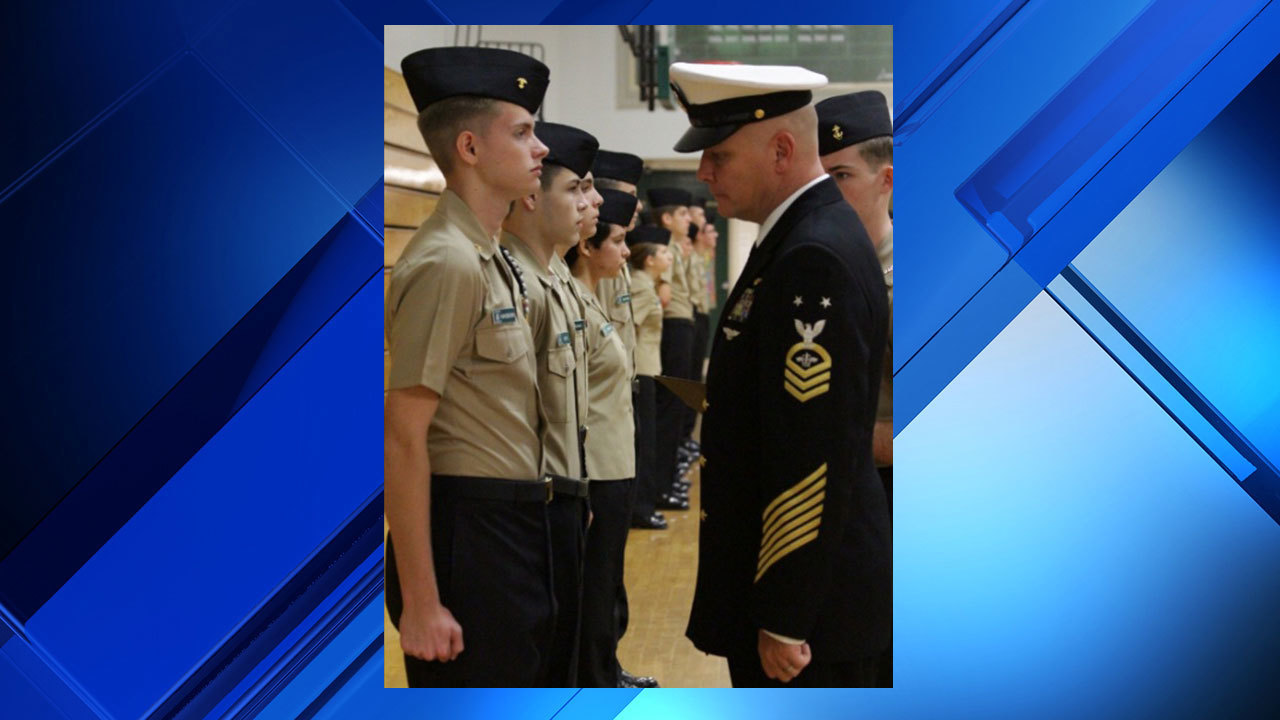 nease njrotc conducts formal inspection