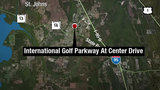 Students treated after 2 school buses crash on International Golf Parkway