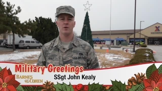 Staff Sgt. John Kealy