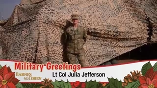 Lt. Col. Julia Jefferson