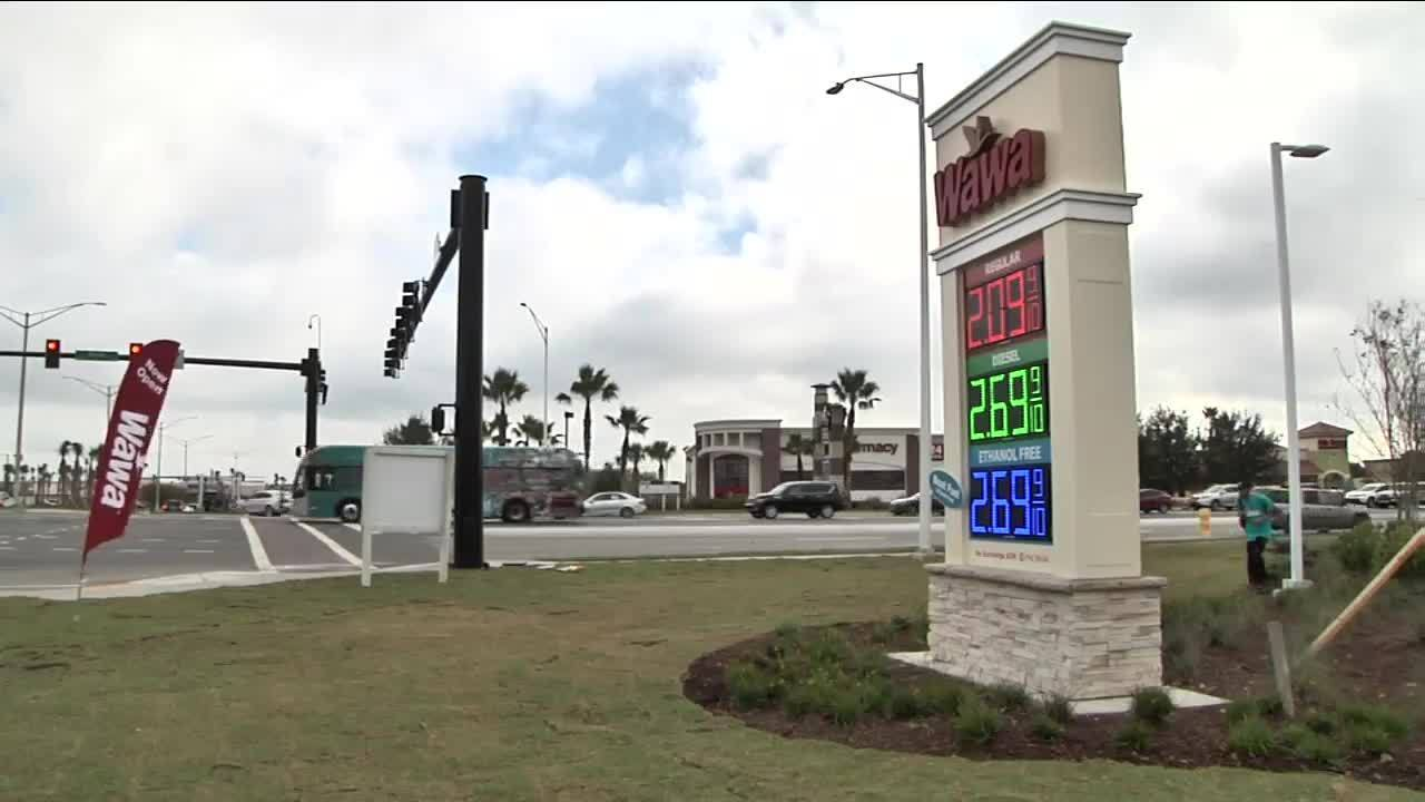 Fuel Fight: Wawa grand opening drives down gas prices at Town...