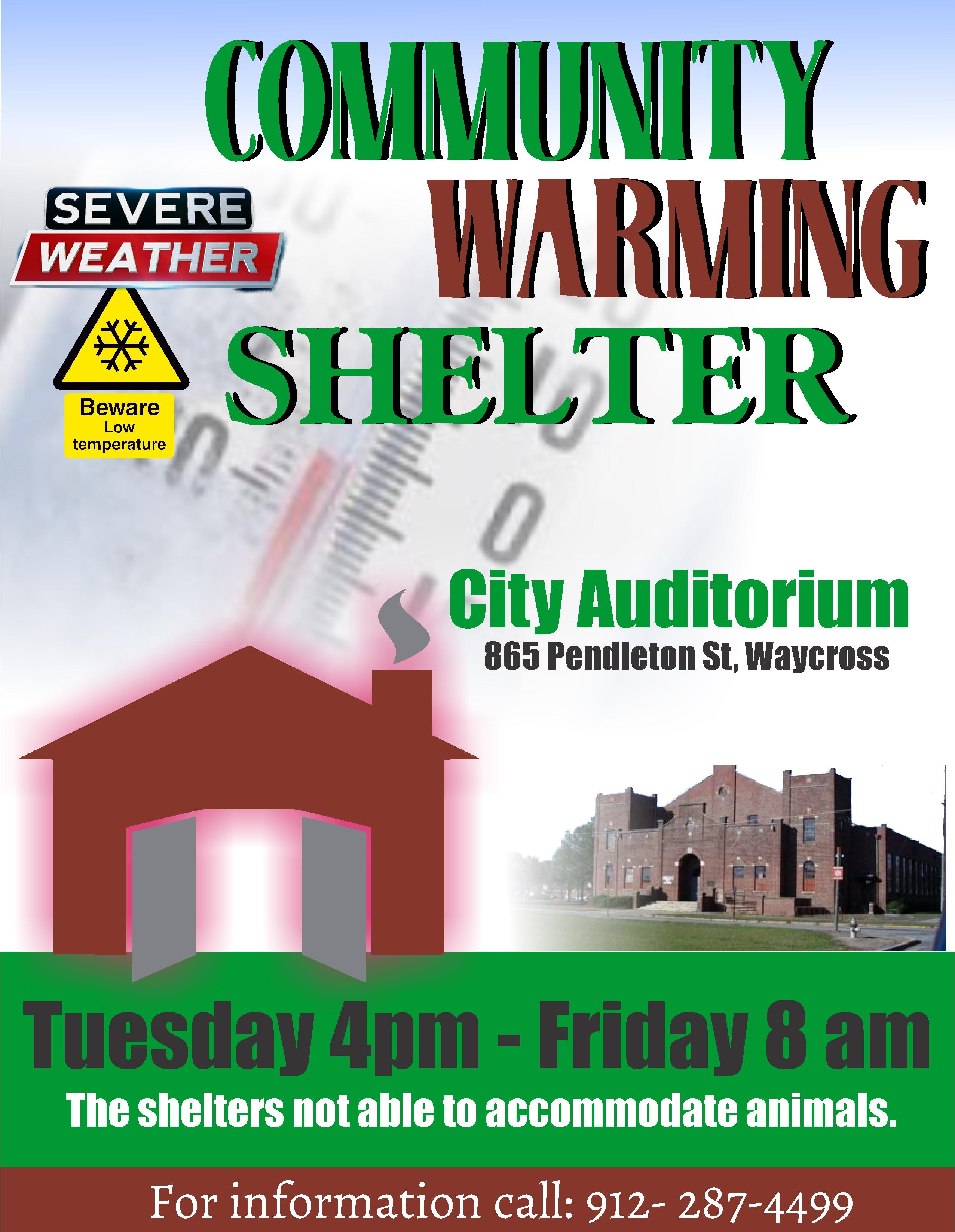 warming shelter