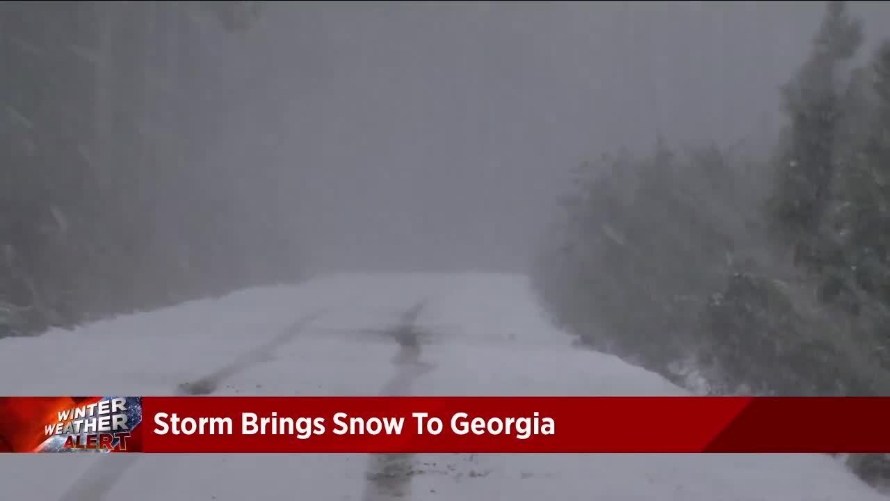 Residents Heed Warnings About Icy Georgia Roads Frolic