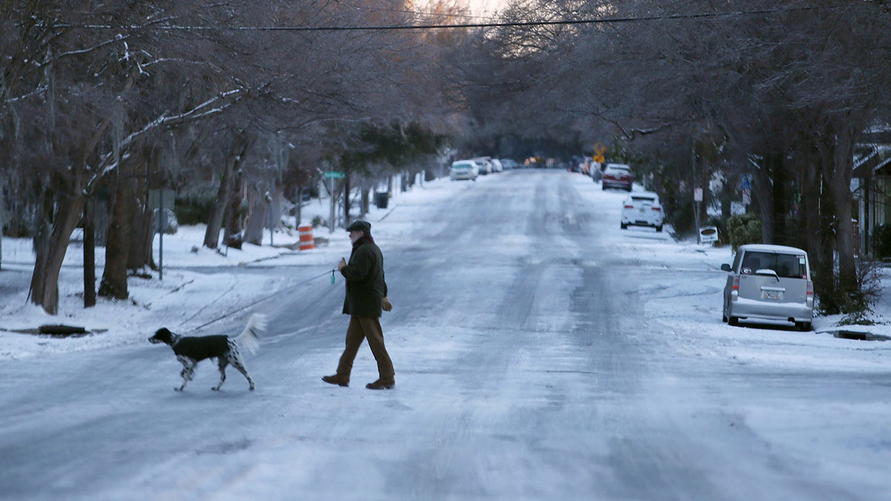 Dog Blanket For Car >> Georgia winter woes continue as temperatures expected to ...