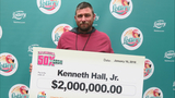 Florida man wins $2 million from scratch-off lottery ticket