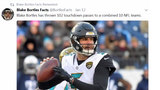 On championship week, 'Bortles Facts' Twitter feed goes viral