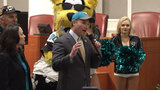 Jacksonville hosts celebration ahead of Jaguars' AFC title game