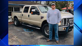 Off-duty firefighter's stolen pickup stolen found
