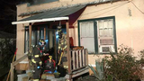 House fire leaves 2 people out in the cold