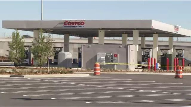 Costco gas station