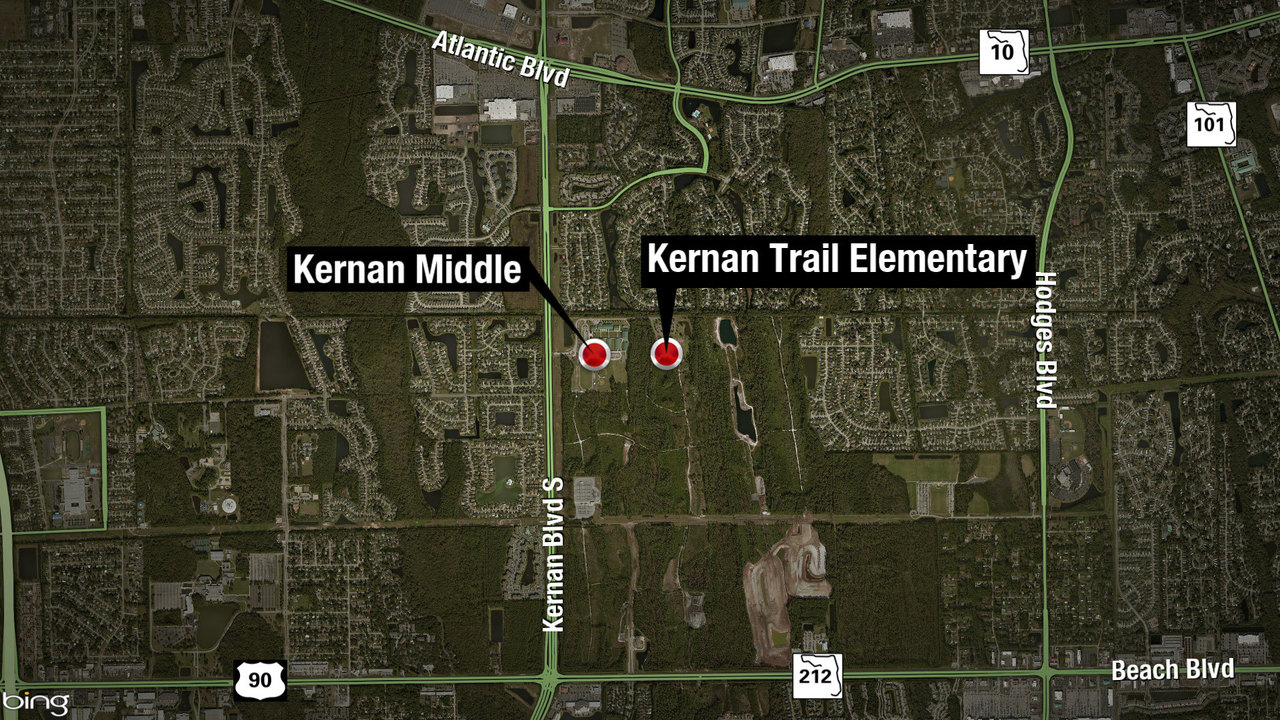 School officials: Gun found in vehicle after police chase ends...