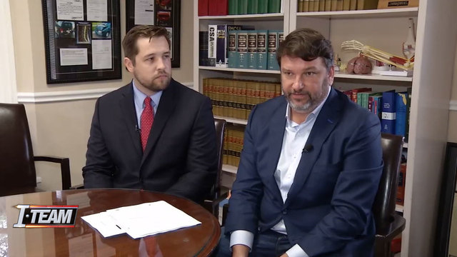 Attorneys Kirby Johnson and John Phillips