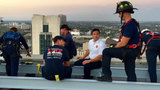 Jacksonville firefighter overcomes fear of heights to assist in high-rise rescue