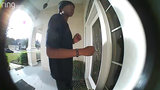 Surveillance video shows man scoping out Oakleaf home