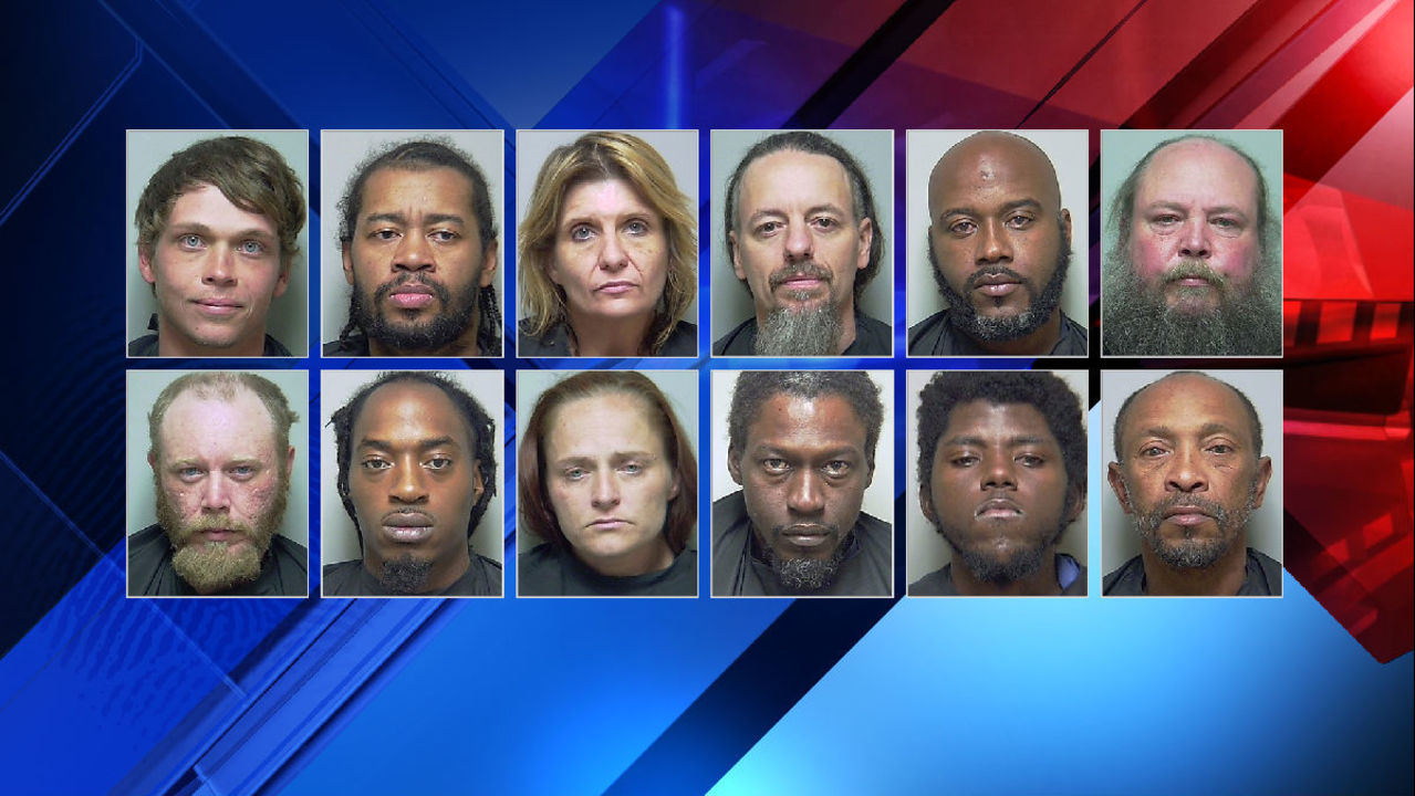 13 people charged in Putnam County drug investigation
