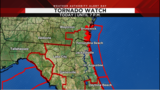 Weather Authority Alert Day: Tornado watch in effect until 7 p.m.