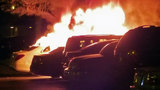 Jacksonville man has suspicions about who torched luxury cars
