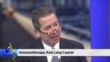 Immunotherapy therapy helping with lung cancer
