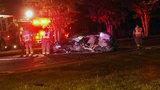 Deputies: 23-year-old driver hits tree on Racetrack Road, dies