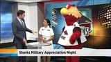 Sharks Military appreciation night