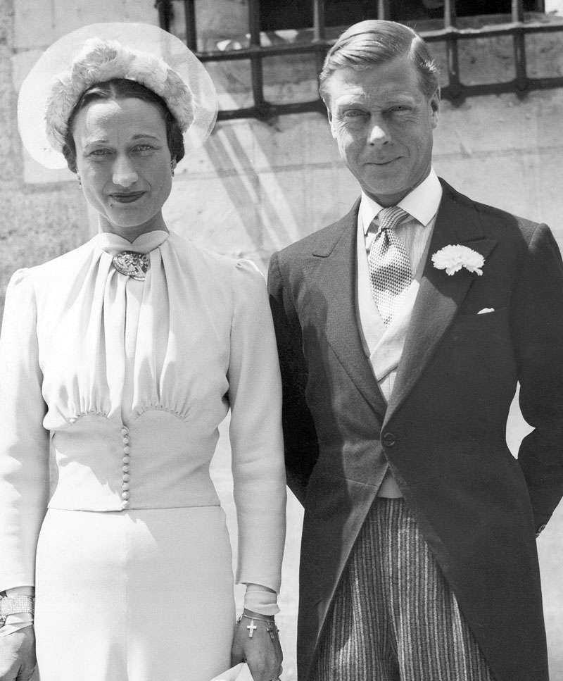 Getty Image of King Edward VIII and Wallis Simpson