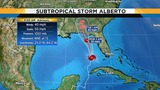 Tropical storm warnings up along Gulf Coast as Alberto moves north