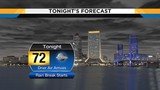 Drier conditions move into Jacksonville tonight lasting through Monday morning