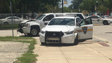 Jacksonville patrol cars crash into each other responding to call